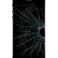 CRACKED IPHONE SCREEN COVER