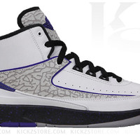 Air Jordan 2 II Retro PS Pre-School Dark Concord