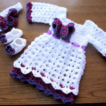 Crochet pattern for two toddler dresses,  floppy hat, headband, ballerina shoes and mary jane shoes all in 18-24 and 2T sizes