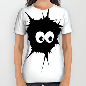 Cute monster furry All Over Print Shirt by VanessaGF
