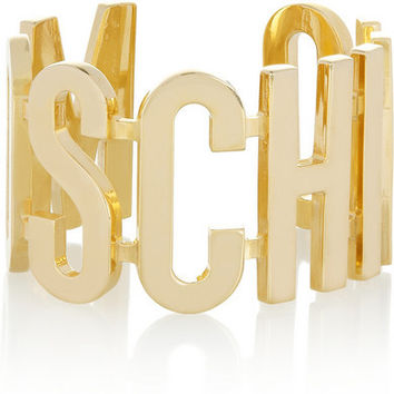 Moschino Plated Cuffs