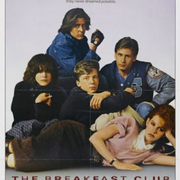 The Breakfast Club Movie Poster 24x36