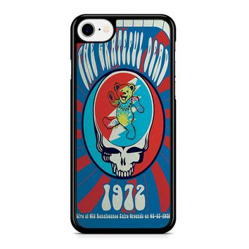 The Grateful Dead Psychedelic Poster Iphone 8 Case