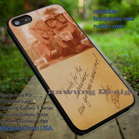 Disney Up Ellie Letter Quote iPhone 6s 6 6s+ 5c 5s Cases Samsung Galaxy s5 s6 Edge+ NOTE 5 4 3 #cartoon #disney #animated #up dt