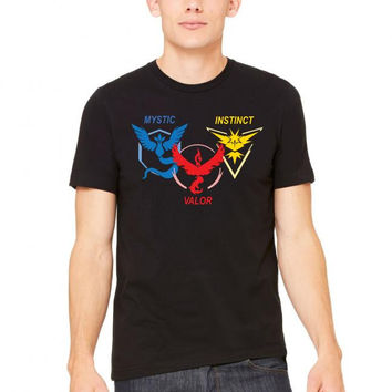 POKEMON GO TRIO TEAM Tshirt