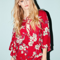 Cotton Candy Tokyo Romper Navy Floral