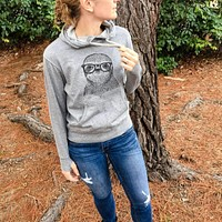 Sidney the Sloth - French Terry Hooded Sweatshirt
