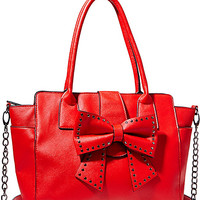 SINCERELY YOURS BOW TOTE