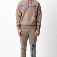 Champion Pigment Dye Tan Pullover Hoodie at PacSun.com