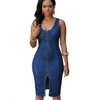 Causal Cowboys Jean Dress