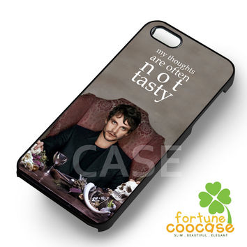 Will Graham Quote Eat the Rude Hannibal -tri for iPhone 6S case, iPhone 5s case, iPhone 6 case, iPhone 4S, Samsung S6 Edge