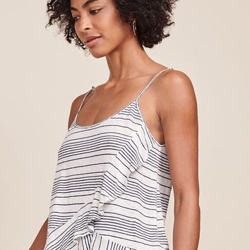 Women's BB Dakota Angela Striped Ruffle Cami