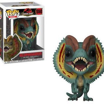 Funko Pop Movies: Jurassic Park-Dilophosaurus (Styles May Vary) Collectible Figure