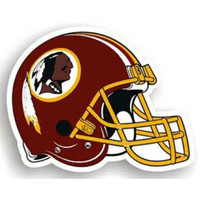 Washington Redskins NFL 12 Car Magnet