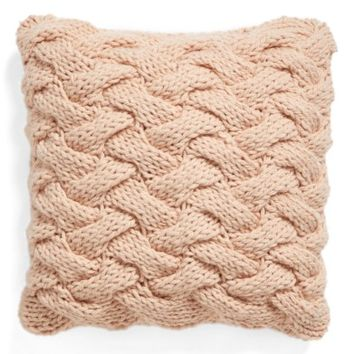 Nordstrom at Home Basket Weave Accent Pillow | Nordstrom
