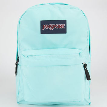 Jansport Black Label Superbreak Backpack Aqua Dash One Size For Men 20550024001