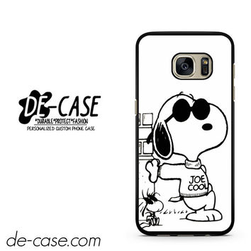 Snoopy Joe Cool DEAL-9766 Samsung Phonecase Cover For Samsung Galaxy S7 / S7 Edge