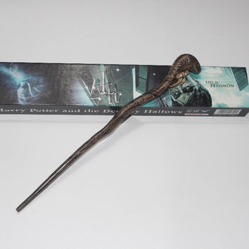 Genuine Super Quality Death Eater Nagini Snake Magic Wand Cosplay Prop  Magic Wand Movie Toy Stick 9ee4af2884