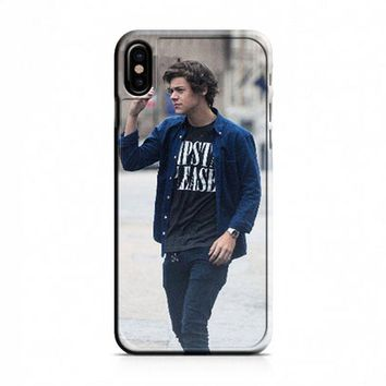 Harry Styles One Direction 1D iPhone X Case