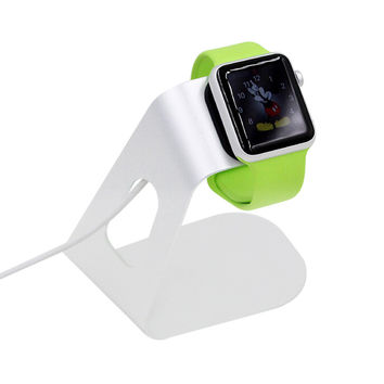 Aluminum Charging Stand Holder For Apple Watch Stand Dock Holder Charger For iWatch 38mm 40mm High Quality