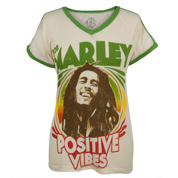 Bob Marley - Positive Vibration 1976 Juniors Soccer T-Shirt