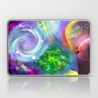 Rainbow space Laptop & iPad Skin by Haroulita | Society6