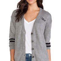 Obey Howell Sweater Cardigan in Gray