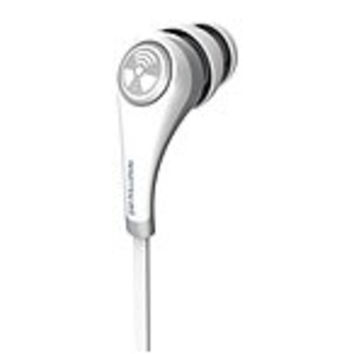 ifrogz Plugz Earphone - Stereo - White - Wired - 16 Ohm - 30 Hz - 20 kHz - Earbud - Binaural - In-ear - 4.10 ft Cable