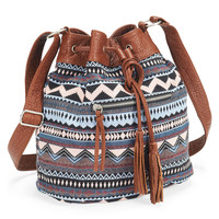 Aeropostale  Southwest Bucket Bag - Black, One
