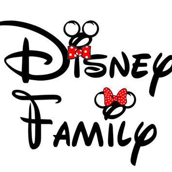 Disney Shirt Disney Family Iron on Transfer Decal(iron on transfer, not digital download)