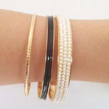 Audrey Bangle Set