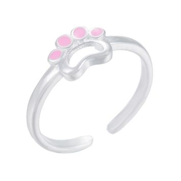 Shuangshuo Opened Pet Paw Ring Women Rings Paw Ring Dog Lover Gifts Animal Pet Jewelry Lover Gift Dog Paw Rings for Women