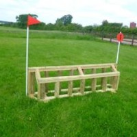 Cross Country Jumps - Double Palisade
