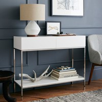 Zane Mini Desk - White