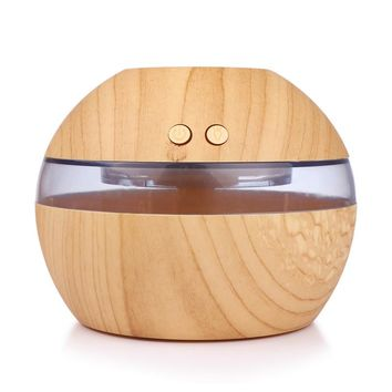 300ml USB Ultrasonic Humidifier Quiet Aroma Fragrance Diffuser with Blue LED Light