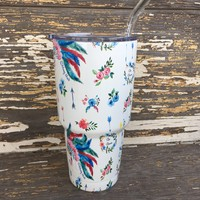 Honey Hush Printed Cup