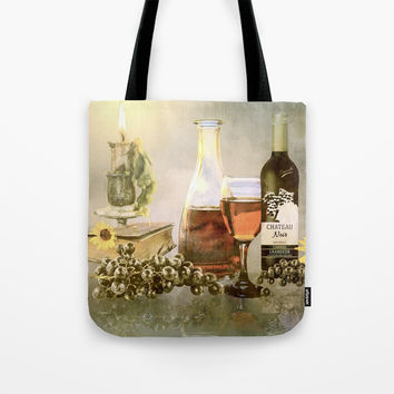 Dreams of Tuscany Tote Bag by Theresa Campbell D'August Art