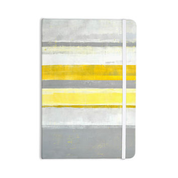 "CarolLynn Tice ""Lemon"" Yellow Gray Everything Notebook"