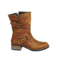 Steve Madden - BREWZZER COGNAC LEATHER