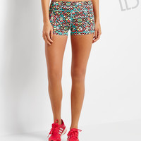 Aeropostale  LLD Neon Shatter Geo Volleyball Shorts