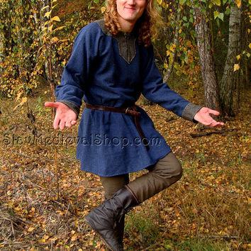 Tunic of Hedeby, Early Medieval Scandinavian tunic, Viking tunic form Hedeby, Historical Pattern , for Viking Reenactors, Viking Costume