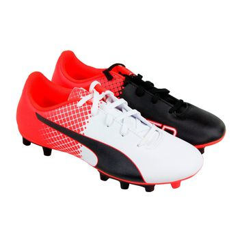 Puma EvoPower 5.5 FG Kids Soccer/Football Cleats