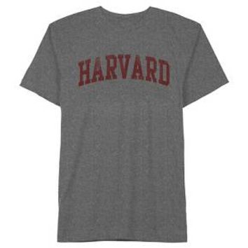 Men's Harvard T-Shirt Charcoal Heather : Target