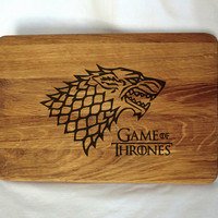 Game of Thrones Cutting Board Chopping boards Wooden cutting board Custom Engraved Cutting Board Personalized Gift idea