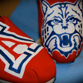 College Mascot TOMS by ShoeDesignsByAllison on Etsy