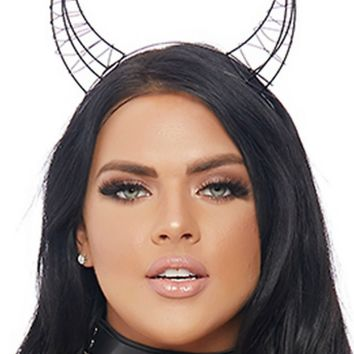 3D Devil Horns Headband