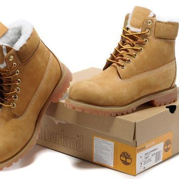 Women's Timberland Icon 6-inch Premium Classic Wheat Gold Waterproof Boots