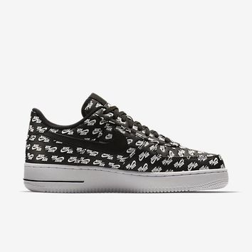 auguau NIKE AIR FORCE 1 '07 QS - BLACK/WHITE/BLACK