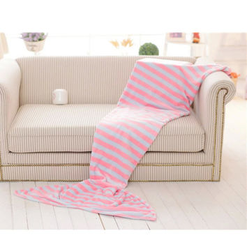 Warm Mermaid Fish Tail Blanket Bed Plush Adult Sleeping Bag Sofa Soft Blankets Spring Bedding
