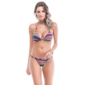 Sancho Triangle Top & Adjustable Cheeky Bottom Set